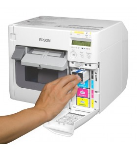 Epson Colorworks TM-C3500 Renkli Barkod Etiket Yazıcı