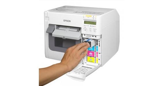 Marketlerde Renkli Etiket Yazıcı Kullanımı / Renkli Etiket Yazıcıları