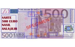 Sahte Euro Nasıl Anlaşılır ?
